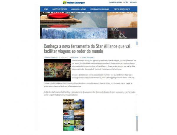 Star Alliance – Melhor Embarque – 18.03.2017