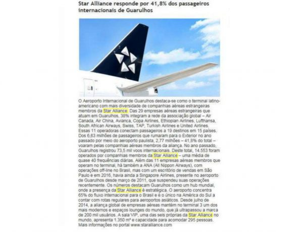 Star Alliance – Revista Flap – 22.02.2017