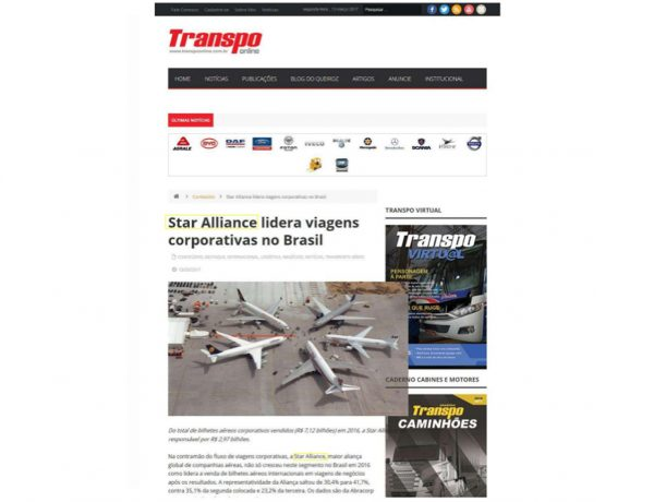 Star Alliance – Transpo Online – 13.03.2017