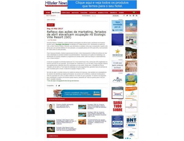 Vivence – Hôtelier News – 15.05.2017