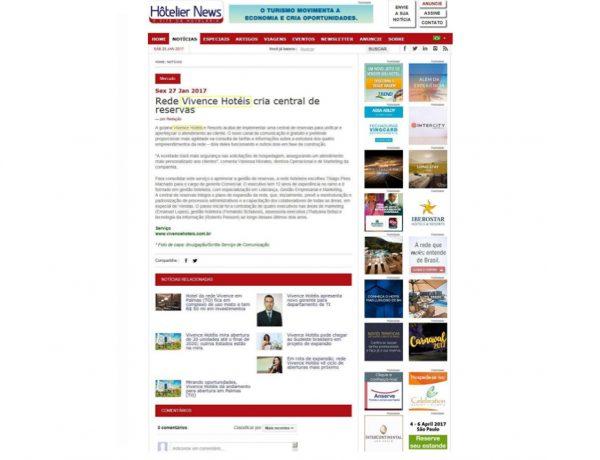 Vivence – Hôtelier News – 27.01.2017