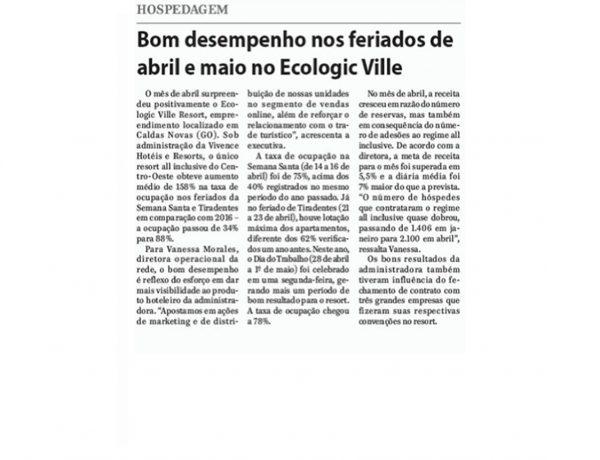 Vivence – Jornal de Uberaba – 28.05.2017