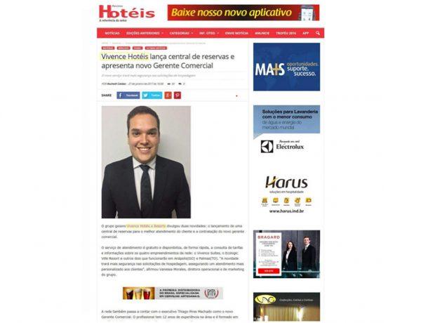 Vivence – Revista Hotéis – 27.01.2017