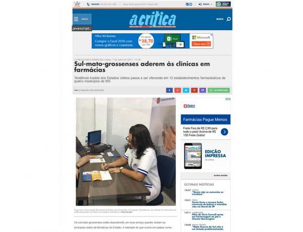 Abrafarma – A Crítica – 07.07.2017