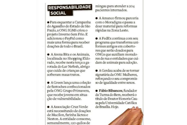 Cruz Verde – O Estado de S.Paulo – 16.07.2017