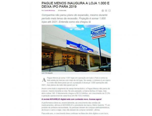 Farmácias Pague Menos – No Varejo – 18.07.2017