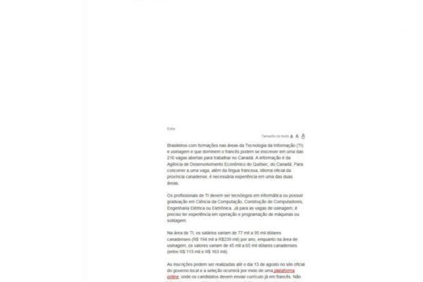 Quebéc – Extra – 19.07.2017