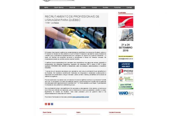 Quebéc – Revista Contramarco – 11.07.2017