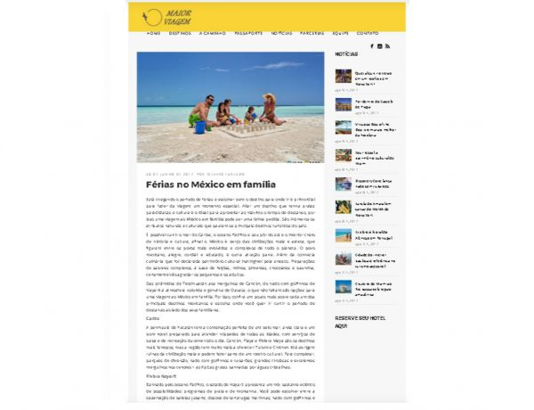 Riviera Nayarit – Maior Viagem – 30.06.2017