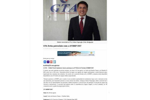 GTA – Diário do Turismo – 28.07.2017
