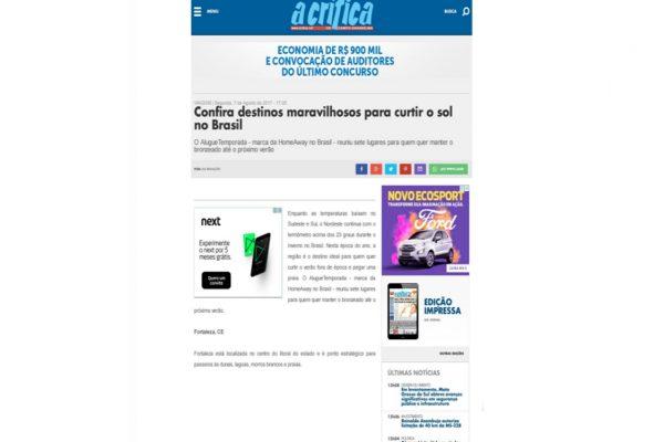 Porto de Galinhas – A Crítica – 07.08.2017