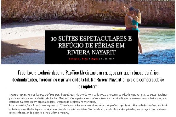 Riviera Nayarit – Elite Magazine – 11.08.2017