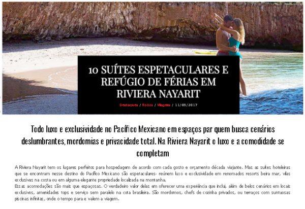 Riviera Nayarit – Elite Magazine – 11.08.2017