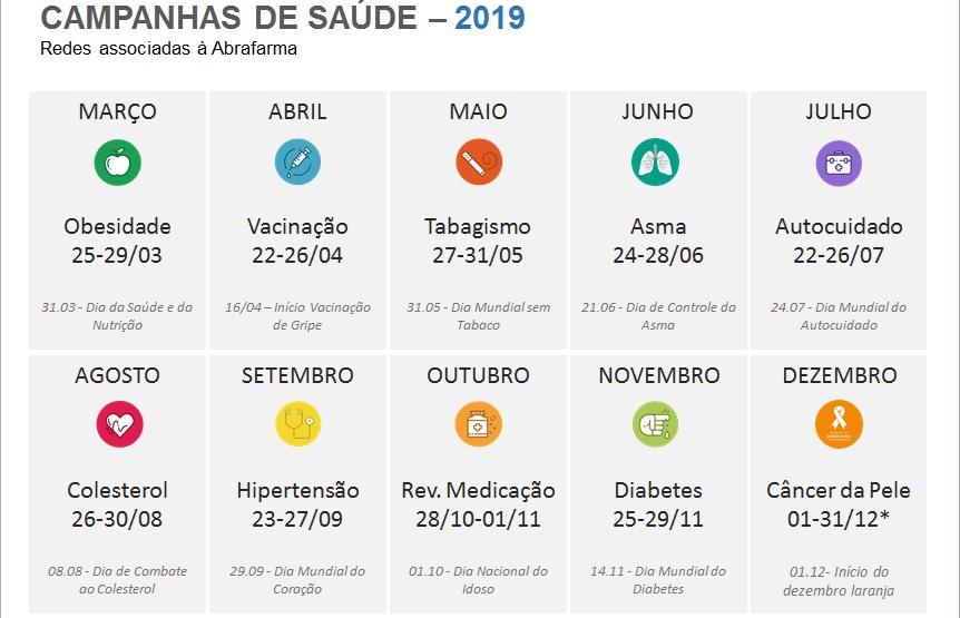 cuidado de la diabetes 2020 calendario de abril